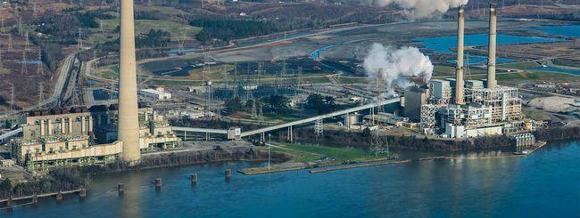 Il data center Google nell'ex centrale a carbone