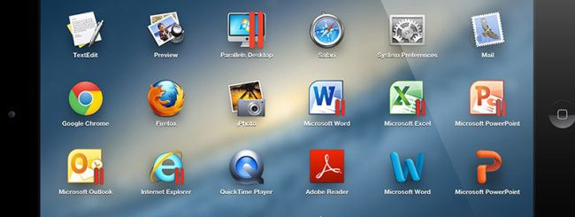 Parallels Access, applicazioni Mac e PC su iPad