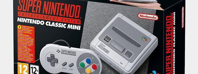 Nintendo aumenta la produzione di SNES Mini
