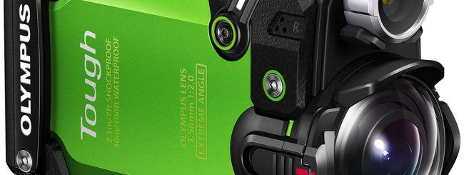 Olympus presenta l'action cam TG-Tracker