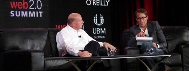 Steve Ballmer: con Yahoo siamo stati fortunati