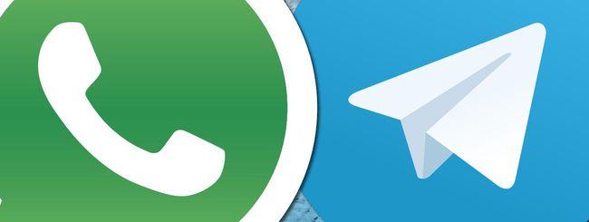 Telegram, più download di WhatsApp a gennaio 2021