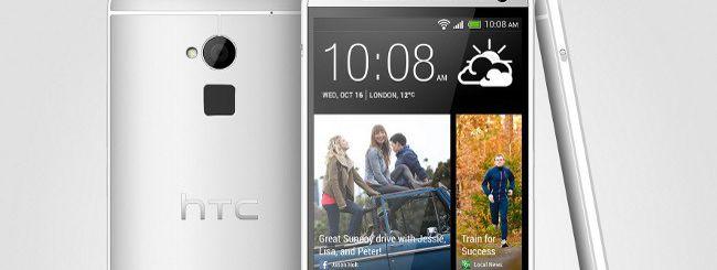 HTC One Max è ufficiale, con lettore di impronte
