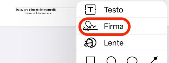 Come firmare un documento PDF su iPhone e iPad