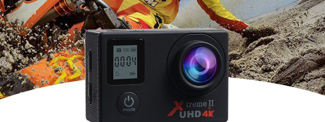 Campark ACT76, action cam 4K con Wi-Fi in offerta