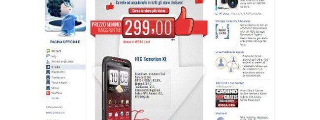 HTC Sensation XE a 299 euro da Unieuro