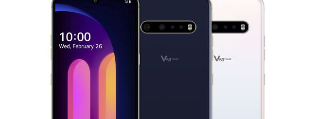 LG V60 ThinQ: dual screen, 5G e video 8K