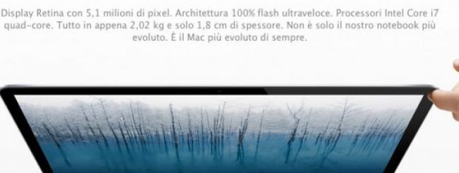 Terminate le prime scorte di MacBook Pro Retina