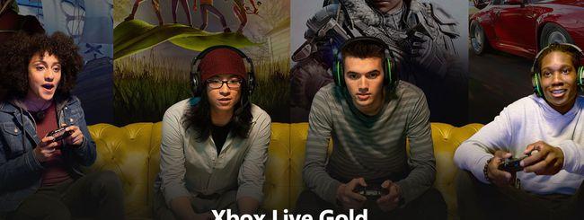 Microsoft ci ripensa: niente aumenti per Xbox Live Gold
