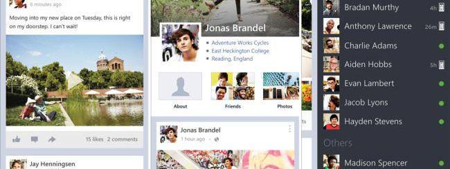 Microsoft rilascia Facebook 5.0 per Windows Phone 8