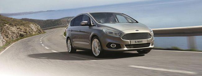 Ford S-Max: limitatore intelligente di velocità