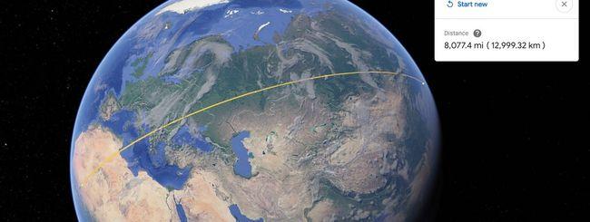 Google Earth: un tool per misurare distanze e aree