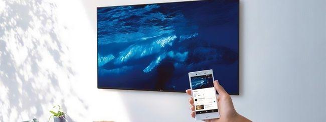 Sony: TV Ultra HD con l'IA dell'Assistente Google