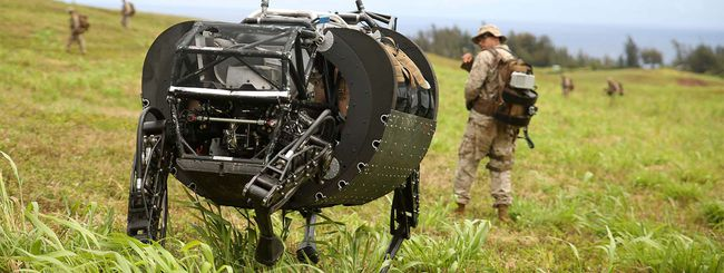 I Marines bocciano il robot Cujo: troppo rumoroso