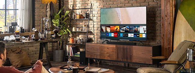 Samsung, fino a 700€ di rimborso sull'acquisto di TV QLED e The Sero