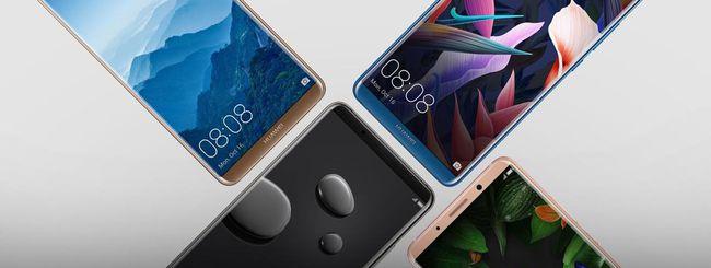 Huawei Mate 10 Pro si sblocca col sorriso