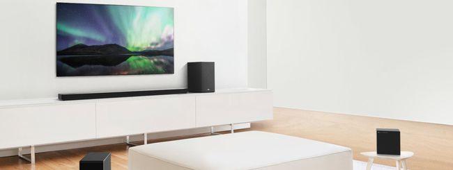 CES 2020: da LG nuove soundbar con audio premium