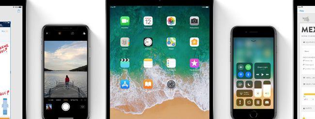 iOS 11 raggiunge l'85% di diffusione