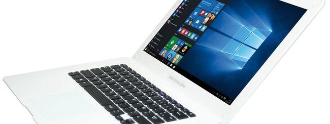 Mediacom SmartBook S140, notebook da viaggio