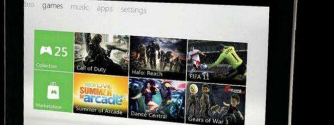 Nuova Xbox: metà tablet, metà console