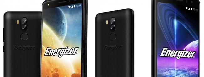Energizer annuncia due smartphone con Android Oreo