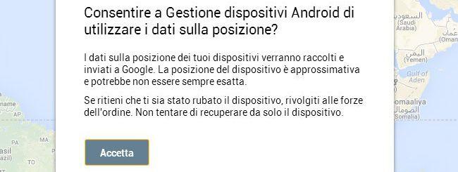 Gestione dispositivi Android debutta in Italia