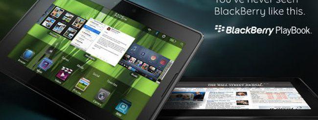 BlackBerry Playbook contro tutti