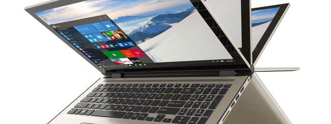 Toshiba mette il tasto Cortana sui notebook