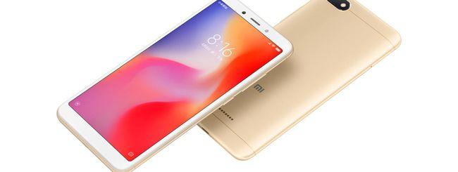 Xiaomi annuncia i Redmi 6 e 6A con schermo 18:9