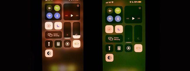 Perché lo schermo di iPhone 11 diventa verde