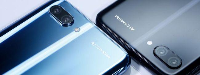 Honor 10, smartphone con dual camera intelligente