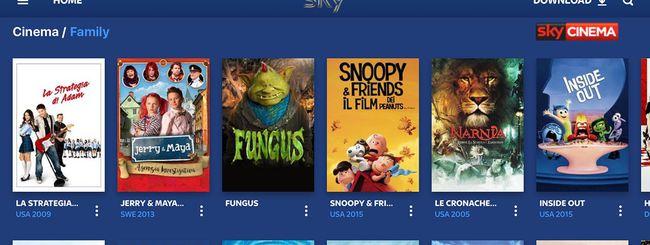 Sky Go Plus con Download & Play