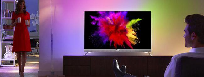 IFA 2016: Philips 901F, TV 4K OLED con Ambilight