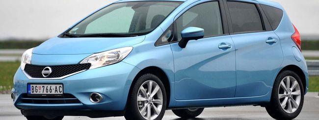 Nissan Note con Google Send to Car