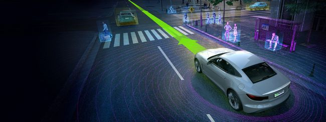 Nvidia Drive PX 2, IA per self-driving car