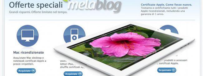 MacSconti su Melablog: iPad di 3ª e 4ª generazione ricondizionati aspettando iPad 5