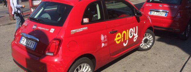 Enjoy porta il car sharing a Bologna