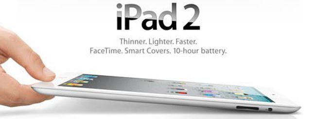 iPad 2: le specifiche tecniche