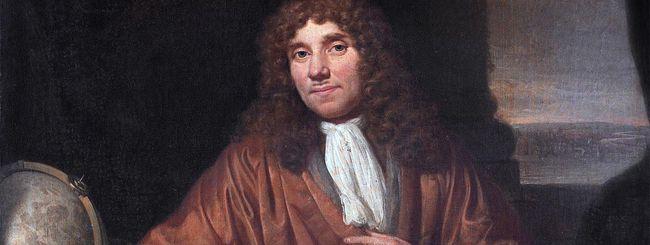 Un Google doodle per Antoni van Leeuwenhoek