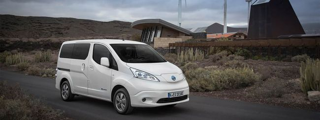 Nissan e-Van Sharing, consegne a zero emissioni