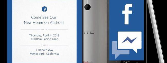 Il Facebook Phone nasce da Android e HTC