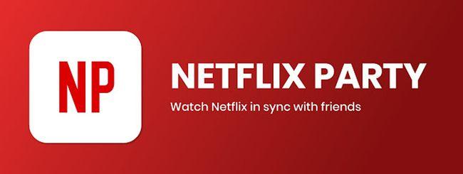 Come guardare un film con gli amici con Netflix Party