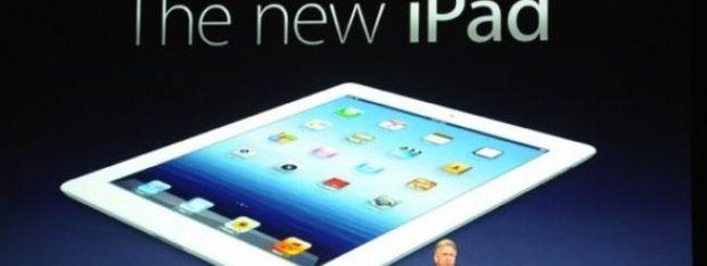 Evento Apple: Ecco il nuovo iPad con Retina Display e processore Apple A5X