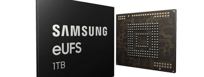 Galaxy S10, Samsung conferma 1 TB di storage