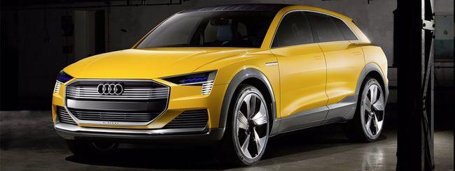 Audi h-tron quattro, una concept car a idrogeno