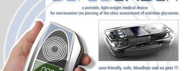 Glycolaser, dispositivo per misurare il livello di glicemia