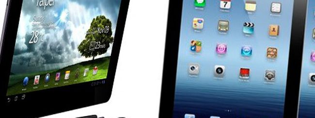 Nuovo iPad vs. ASUS Transformer Prime TF201