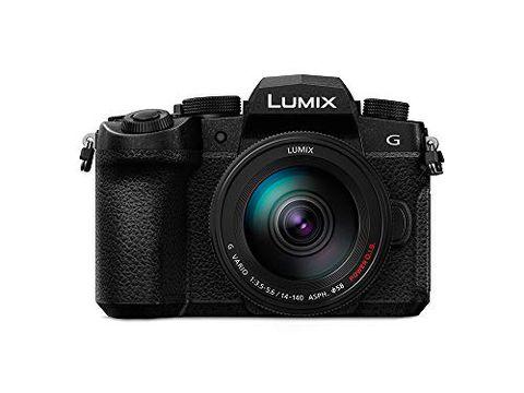 Panasonic DC-G90HEB-K - Fotocamera digitale mirrorless con obiettivo 14-140 mm - Nero