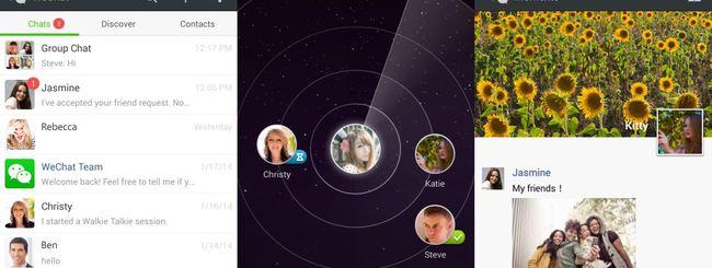 WeChat 5.2 per Android migliora la vita sociale