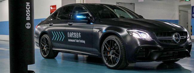 Bosch e Daimler, il parcheggio autonomo è realtà